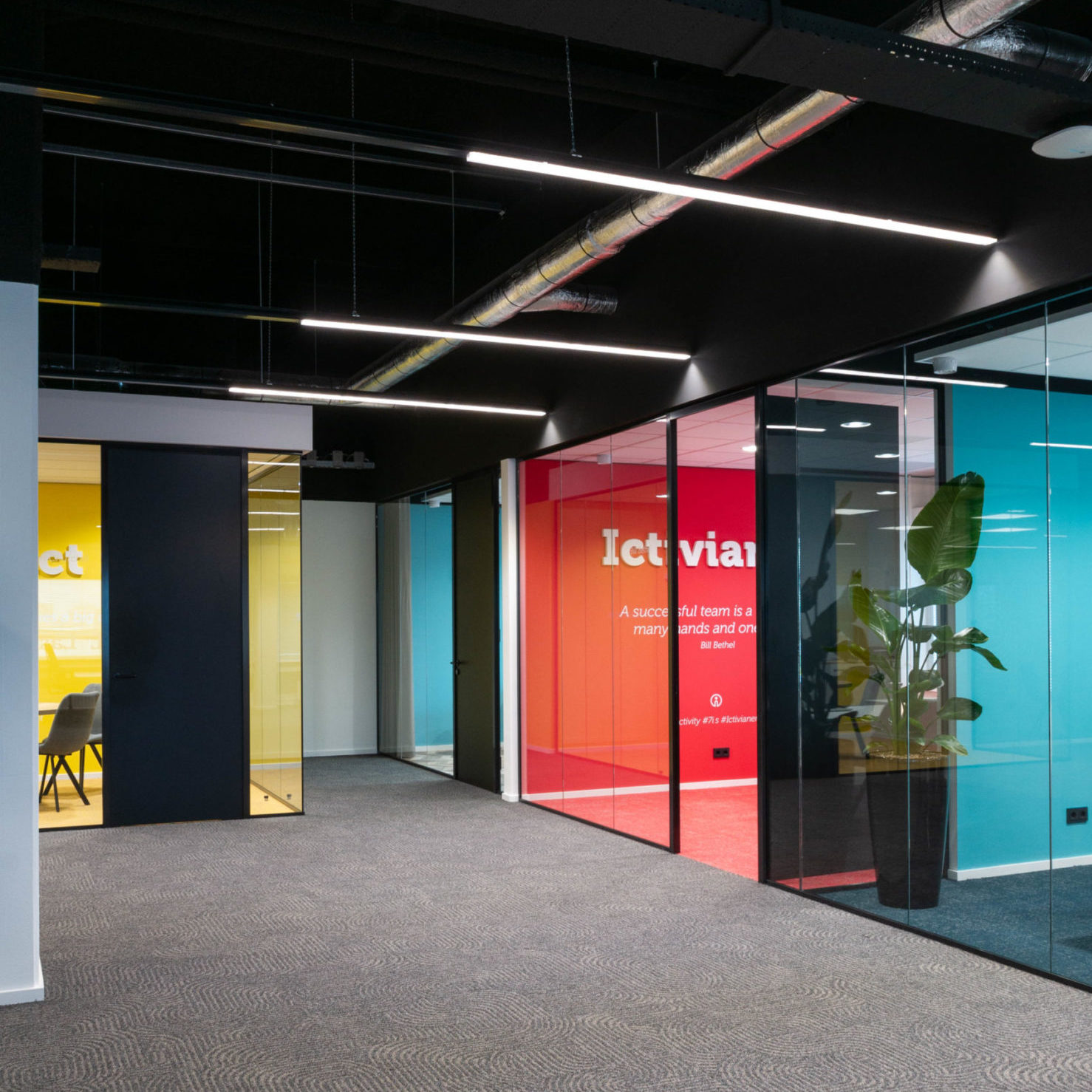 Topper project: ontwerp kantoor Ictivity Eindhoven